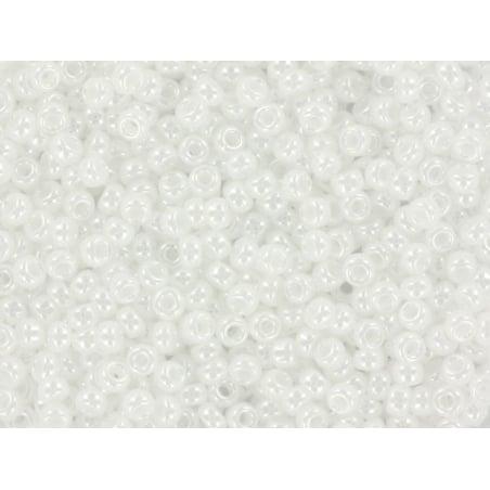 Rocailles Miyuki 11/0 - blanc brillant 528  - 1