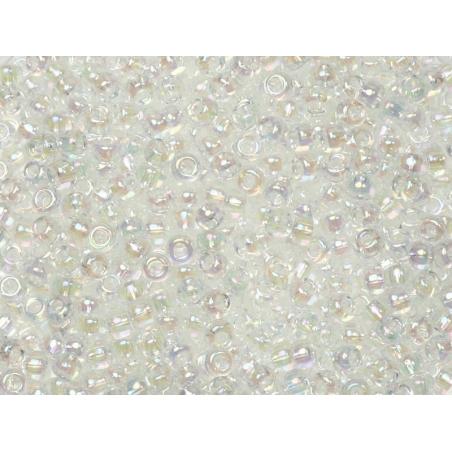Miyuki seed beads/rocaille beads 11/0 - Crystal/transparent (colour no. 250)