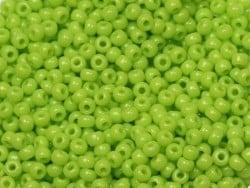Rocailles Miyuki 11/0 - vert anis opaque 416