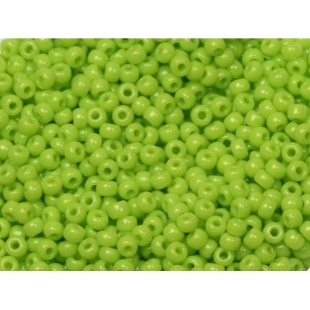 Rocailles Miyuki 11/0 - vert anis opaque 416  - 1