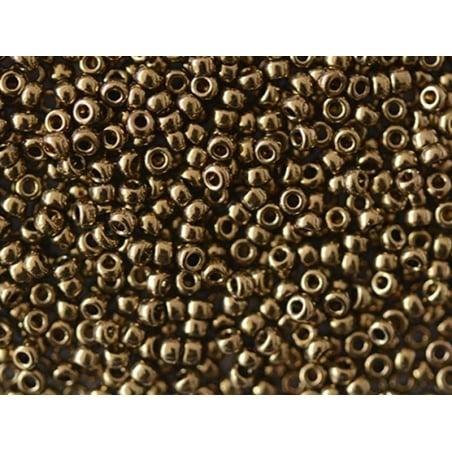 Rocailles Miyuki 11/0 - bronze foncé 457  - 1