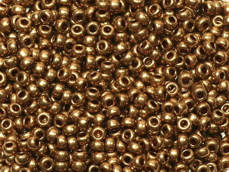 Rocailles Miyuki 11/0 - bronze clair 457L  - 1