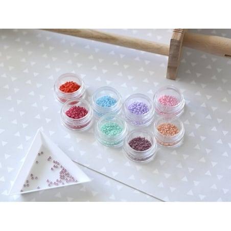 Acheter Rocailles Miyuki 11/0 - mauve opaque 4487 - 1,59€ en ligne sur La Petite Epicerie - 100% Loisirs créatifs