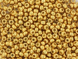 Miyuki seed beads/rocaille beads 15/0 - gold (colour no. 4202)