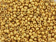 Rocailles Miyuki 15/0 - doré 4202