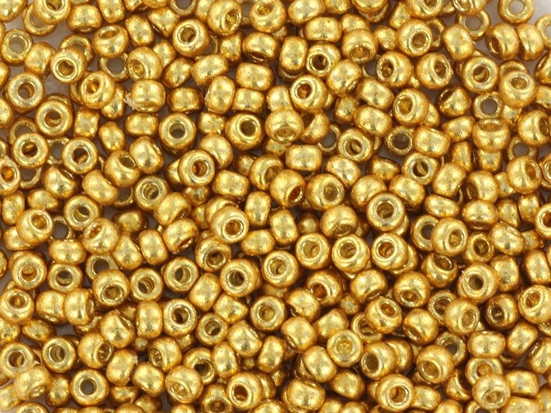 Acheter Rocailles Miyuki 15/0 - doré 4202 - 1,79€ en ligne sur La Petite Epicerie - Loisirs créatifs