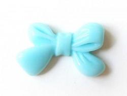 Bow cabochon - blue