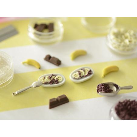 Acheter Lot de 4 décorations gourmandes - Banana split - 5,99€ en ligne sur La Petite Epicerie - 100% Loisirs créatifs