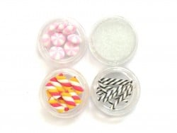 Set of miniature food decorations - Sweets