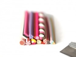 Set of 10 canes & 1 blade - Sweets