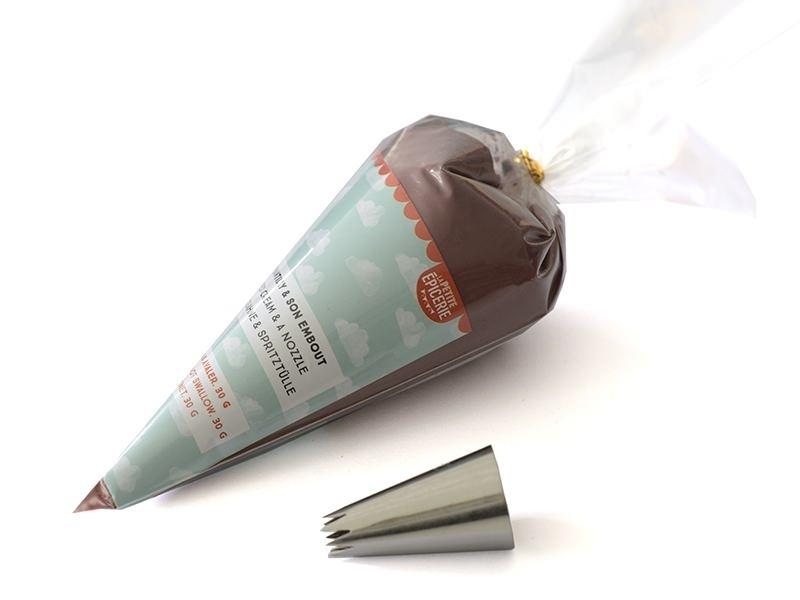Kit chantilly & embout - Marron chocolat La petite épicerie - 1