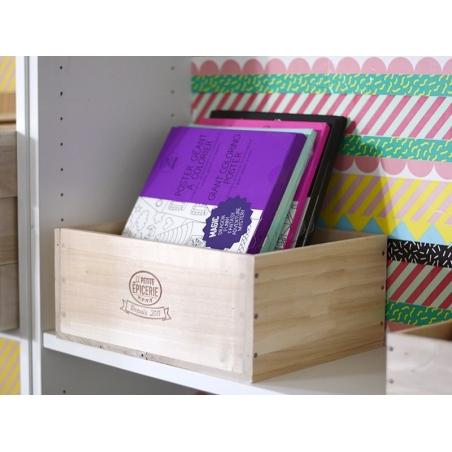 Grande caissette en bois La Petite Epicerie La petite épicerie - 2