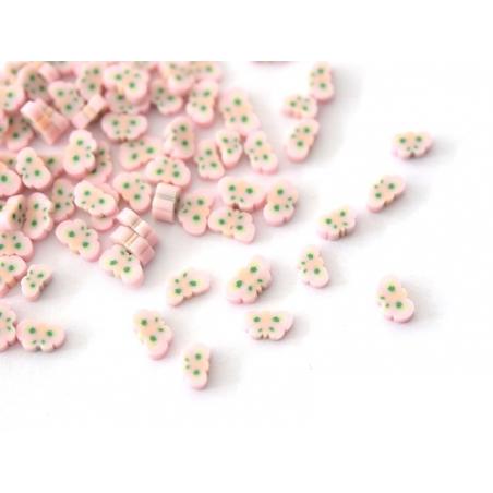 Acheter 100 tranches en pâte polymère - libellule rose - 1,99€ en ligne sur La Petite Epicerie - Loisirs créatifs