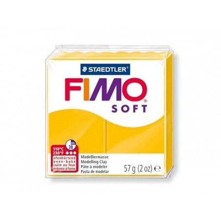 Fimo Soft - sunflower yellow no. 16