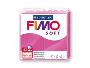 Pâte Fimo Soft rose Framboise 22