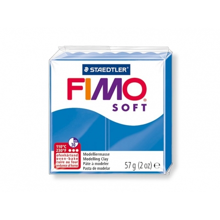 Fimo Soft - pacific blue no. 37