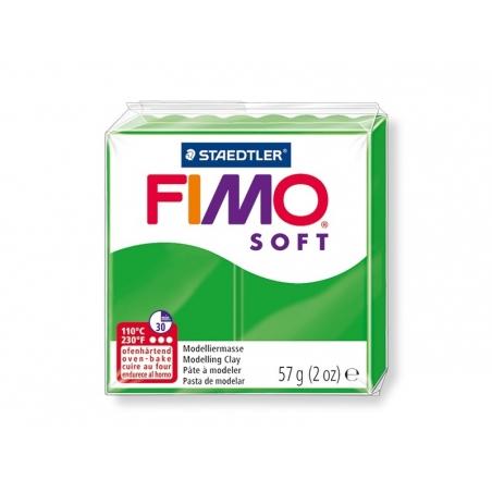 Pâte Fimo Soft Vert Tropique 53