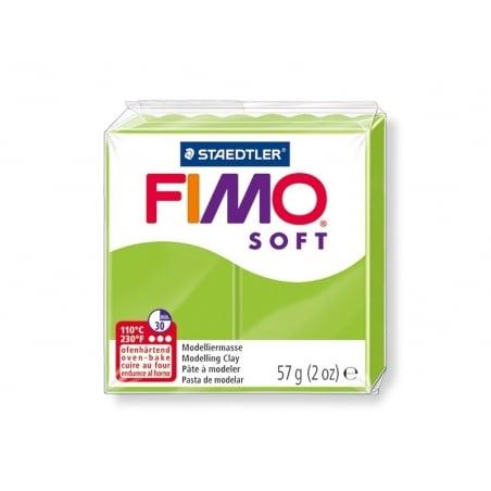 Acheter Pâte Fimo Soft Vert Pomme 50 - 1,99€ en ligne sur La Petite Epicerie - Loisirs créatifs