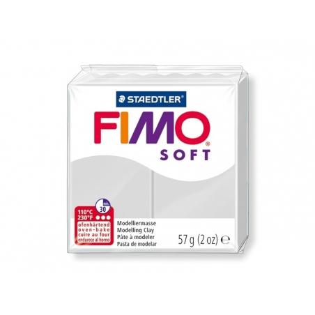 Acheter Pâte Fimo Soft Gris dauphin 80 - 1,99€ en ligne sur La Petite Epicerie - Loisirs créatifs