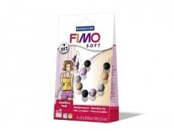 Kit bijoux Fimo - Billes Corail