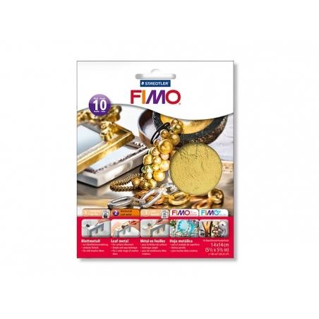 Acheter 10 feuilles de métal pour dorure - doré - 7,00€ en ligne sur La Petite Epicerie - 100% Loisirs créatifs