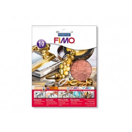 Acheter 10 feuilles de métal pour dorure - cuivré - 7,00€ en ligne sur La Petite Epicerie - 100% Loisirs créatifs