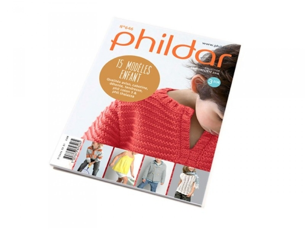 Mini-magazine Phildar n°646