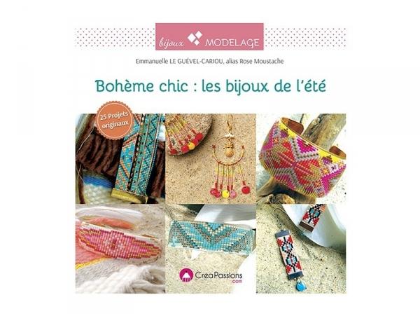 Acheter Livre de Rose Moustache Bohème Chic : les bijoux de l'été - 14,90€ en ligne sur La Petite Epicerie - Loisirs créatifs