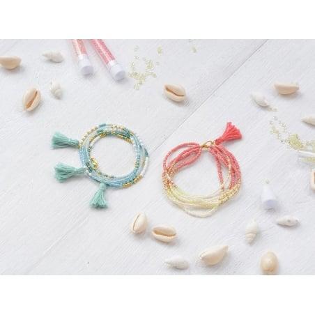 Acheter Kit bracelet - multi-rangs rocailles - 8,90€ en ligne sur La Petite Epicerie - Loisirs créatifs