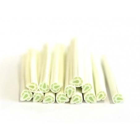 Acheter Cane fleur de monoï verte en pâte fimo - à découper en tranches - 0,99€ en ligne sur La Petite Epicerie - 100% Loisi...