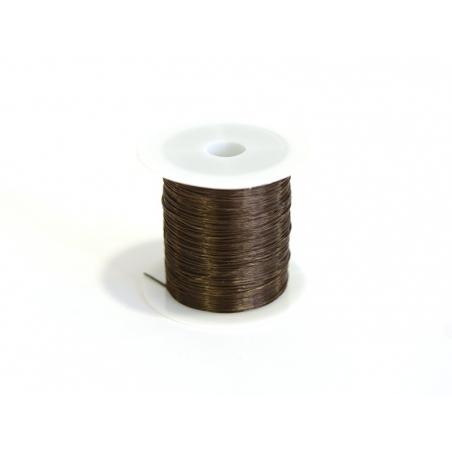 Acheter 12 m de fil élastique brillant - Marron - 1,59€ en ligne sur La Petite Epicerie - Loisirs créatifs