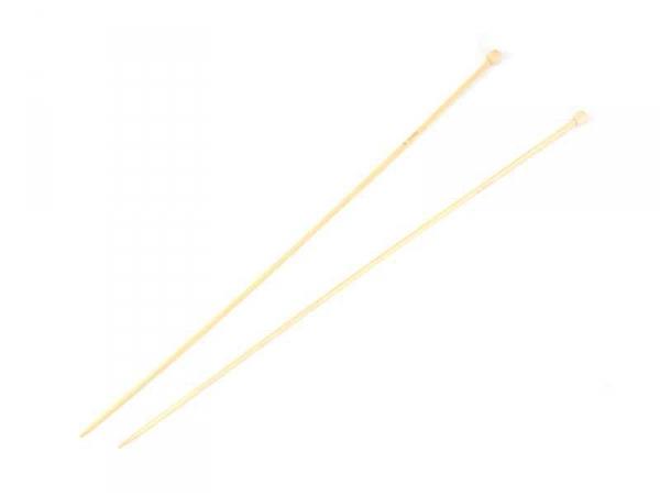 Acheter Aiguilles à tricoter en bambou - 3 mm - 5,20€ en ligne sur La Petite Epicerie - 100% Loisirs créatifs