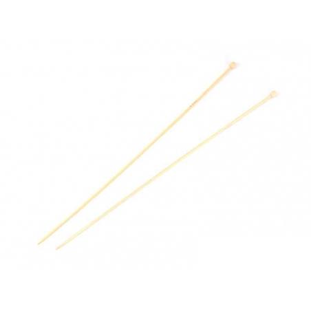 Bamboo knitting needles - 3 mm