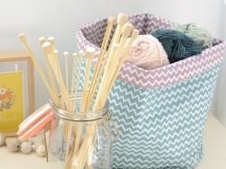 Aiguilles à tricoter en bambou - 4 mm