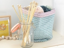 Bamboo knitting needles - 5 mm