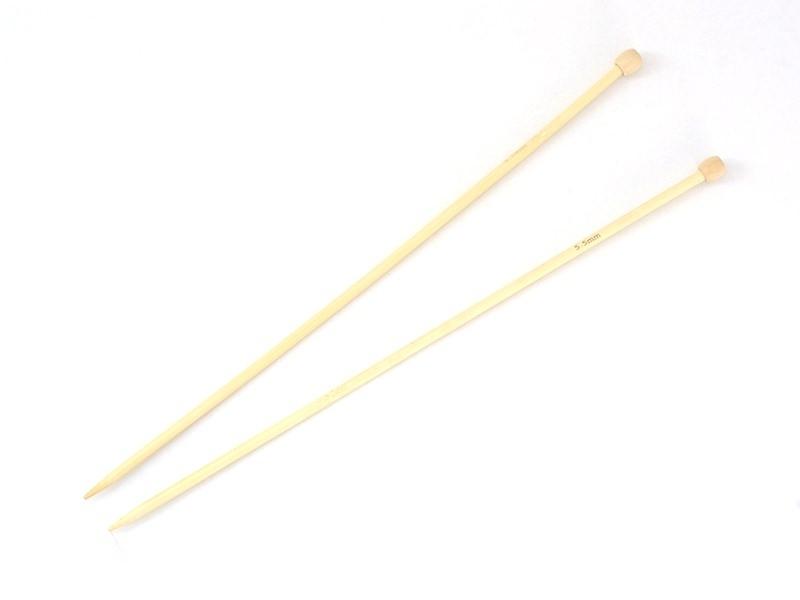 Acheter Aiguilles à tricoter en bambou - 5,5 mm - 7,20€ en ligne sur La Petite Epicerie - Loisirs créatifs