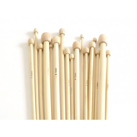 Acheter Aiguilles à tricoter en bambou - 8 mm - 7,20€ en ligne sur La Petite Epicerie - 100% Loisirs créatifs