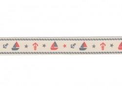 Ripsband (1 m) - Boot - 20 mm