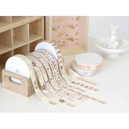 Acheter 1m de ruban gros grain Fanions - 15 mm - 1,89€ en ligne sur La Petite Epicerie - 100% Loisirs créatifs