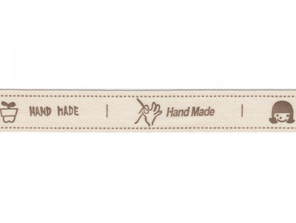 Acheter 1m de ruban gros grain Handmade - 15 mm - 1,89€ en ligne sur La Petite Epicerie - 100% Loisirs créatifs