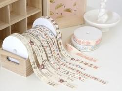 Rolle Ripsband (1 m) - Handmade - 15 mm