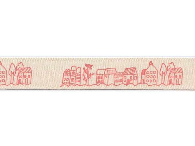 Acheter 1m de ruban gros grain Village - 20 mm - 1,89€ en ligne sur La Petite Epicerie - Loisirs créatifs