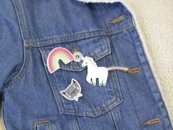 Unicorn brooches