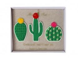 Broches cactus