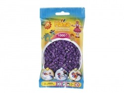 Bag of 1,000 HAMA MIDI beads - violet Hama - 1