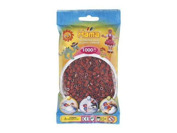 Sachet de 1000 perles HAMA Midi - bordeaux 30 Hama - 1