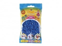 Bag of 1,000 HAMA MIDI beads - dark blue Hama - 1