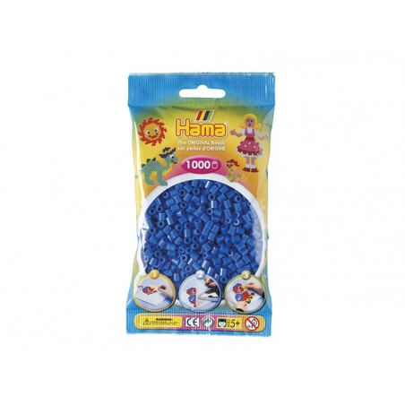 Sachet de 1000 perles HAMA Midi - bleu foncé 09 Hama - 1