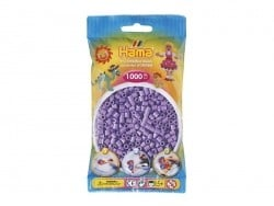 Bag of 1,000 HAMA MIDI beads - pastel violet Hama - 1