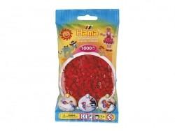 Sachet de 1000 perles HAMA Midi - Rouge Noël